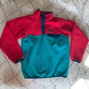 Girls Patagonia sweatshirt/jacket
